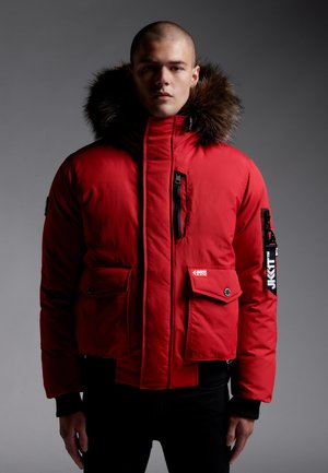 MOUNTAIN  - Down jacket - red