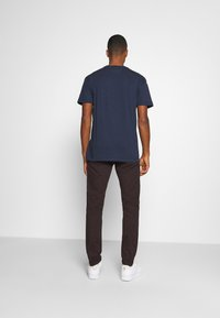 Tommy Jeans - PLAID COLLEGIATE  - T-shirts print - twilight navy - 2