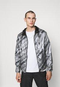 Emporio Armani - BLOUSON JACKET - Waterproof jacket - grey - 0