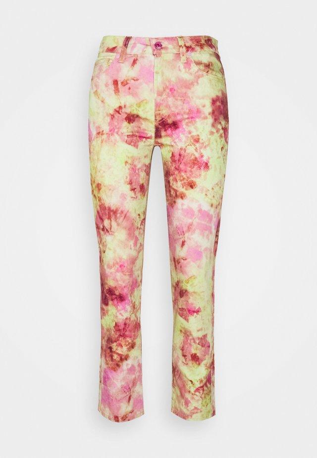 THE CROP - Jeans a sigaretta - multicolour