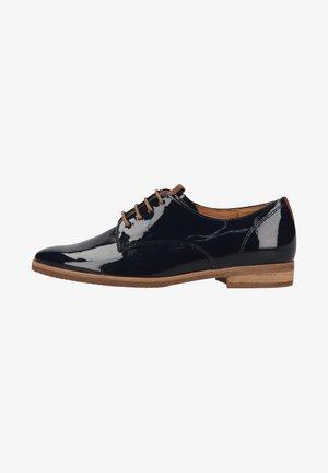 Zapatos de vestir - nightblue/peanut