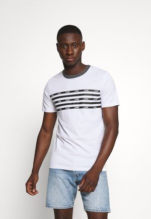 JCOKALLY TEE CREW NECK - T-shirt print - white