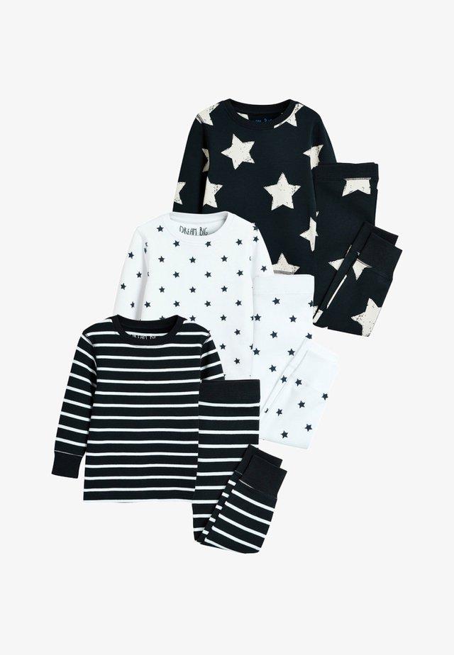 STAR STRIPE SNUGGLE FIT THREE PACK - Pijama - blue