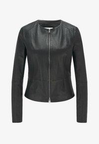 BOSS - SANOA - Leather jacket - black - 5