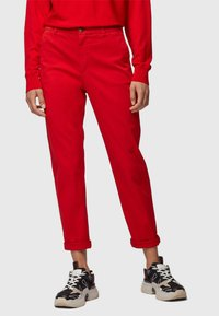 BOSS - SACHINI - Trousers - red - 0