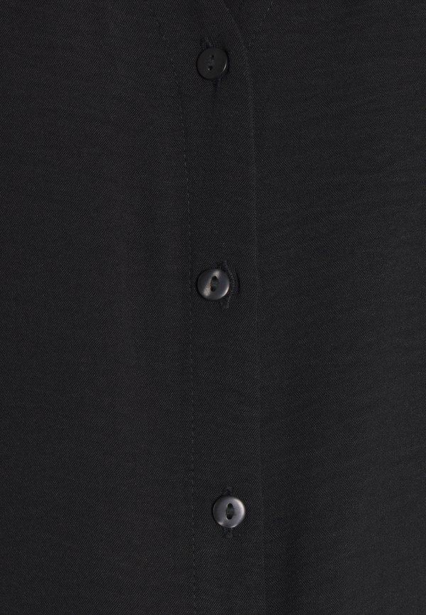 JDY JDYCAPOTE SHIRT - Bluzka - black/czarny TLSX