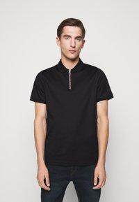 Michael Kors - LOGO ZIP - Polo shirt - black - 0