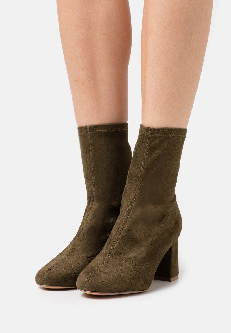 Even&Odd - Classic ankle boots - khaki