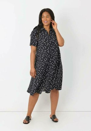 Shirt dress - black
