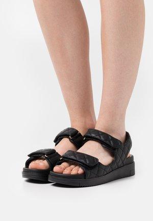 KIKII - Platform sandals - black