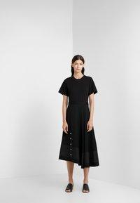 3.1 Phillip Lim - FLARE SKIRT DRESS - Vestito estivo - black - 1