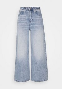 Tommy Jeans - ULTRA WIDE LEG - Relaxed fit jeans - light blue denim - 4