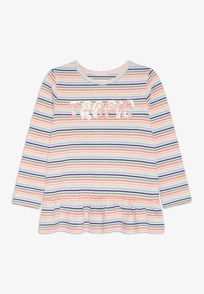 Staccato - STREIFEN TUNIKA KID - Long sleeved top - neon peach