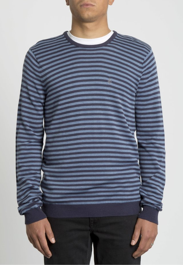 STRIPE  - Jumper - navy