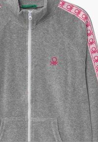 Benetton - BASIC GIRL  - Zip-up hoodie - grey - 2
