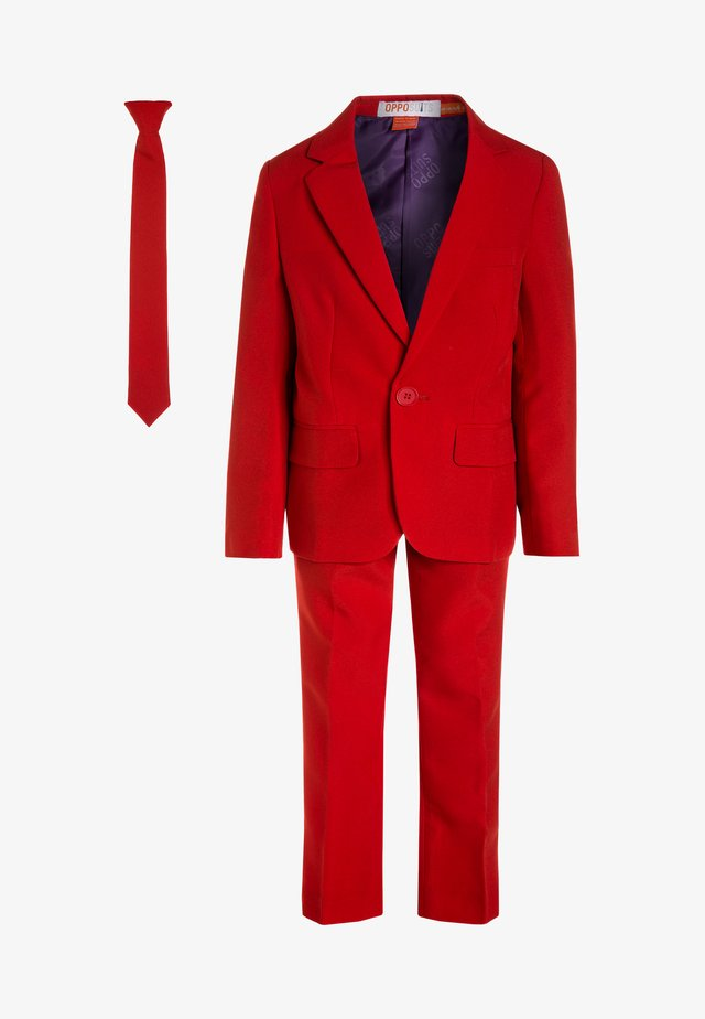 BOYS DEVIL SET - blazer - medium red
