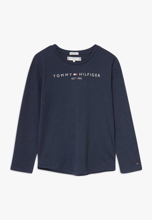 ESSENTIAL TEE - Camiseta de manga larga - blue