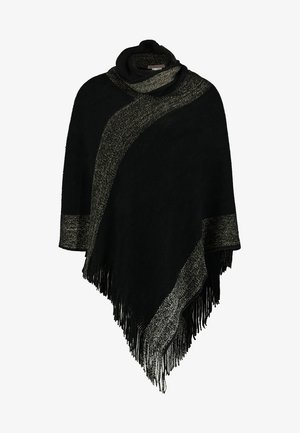 Cape - black/gold