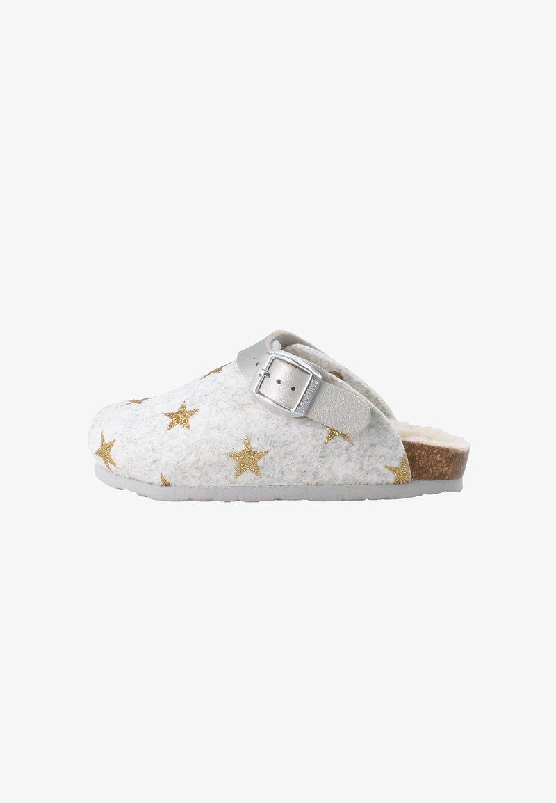 Genuins - SHETLAND STARS - Slippers - gold