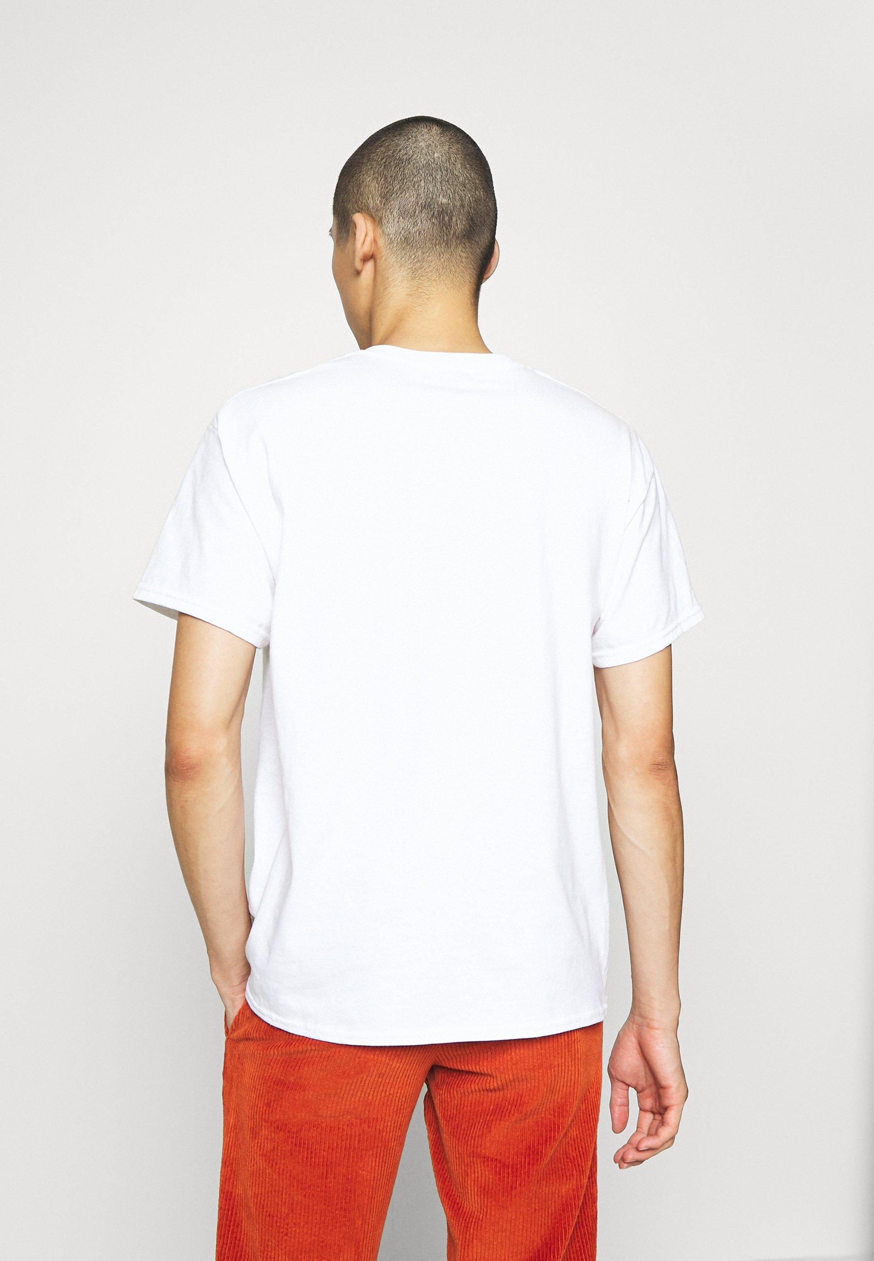Topman TEE - Print T-shirt - white Rmihy