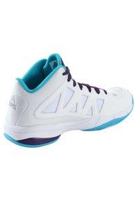 PEAK - CAROLINA - Basketball shoes - weiß - blau - 2