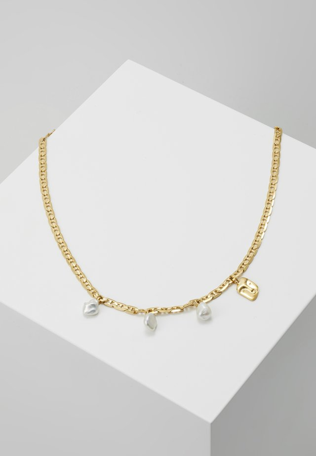 CREW NECKLACE - Halsband - gold-coloured