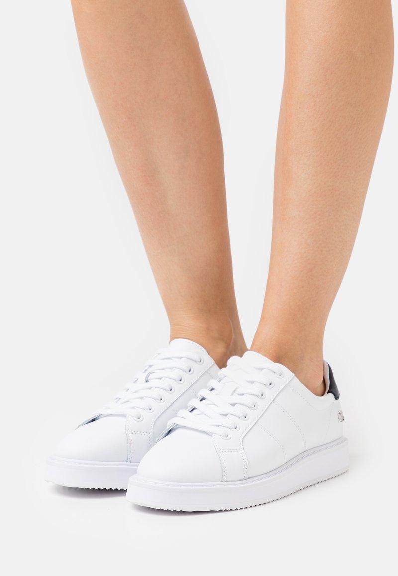 Lauren Ralph Lauren - ANGELINE  - Matalavartiset tennarit - white
