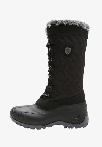 NIETOS - Winter boots - nero melange