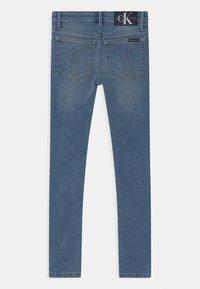 Calvin Klein Jeans - SUPER SKINNY  - Jeans Skinny Fit - blue - 1
