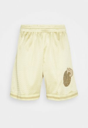NBA DALLAS MAVERICKS MIDAS SWINGMAN SHORT - Träningsshorts - metallic gold