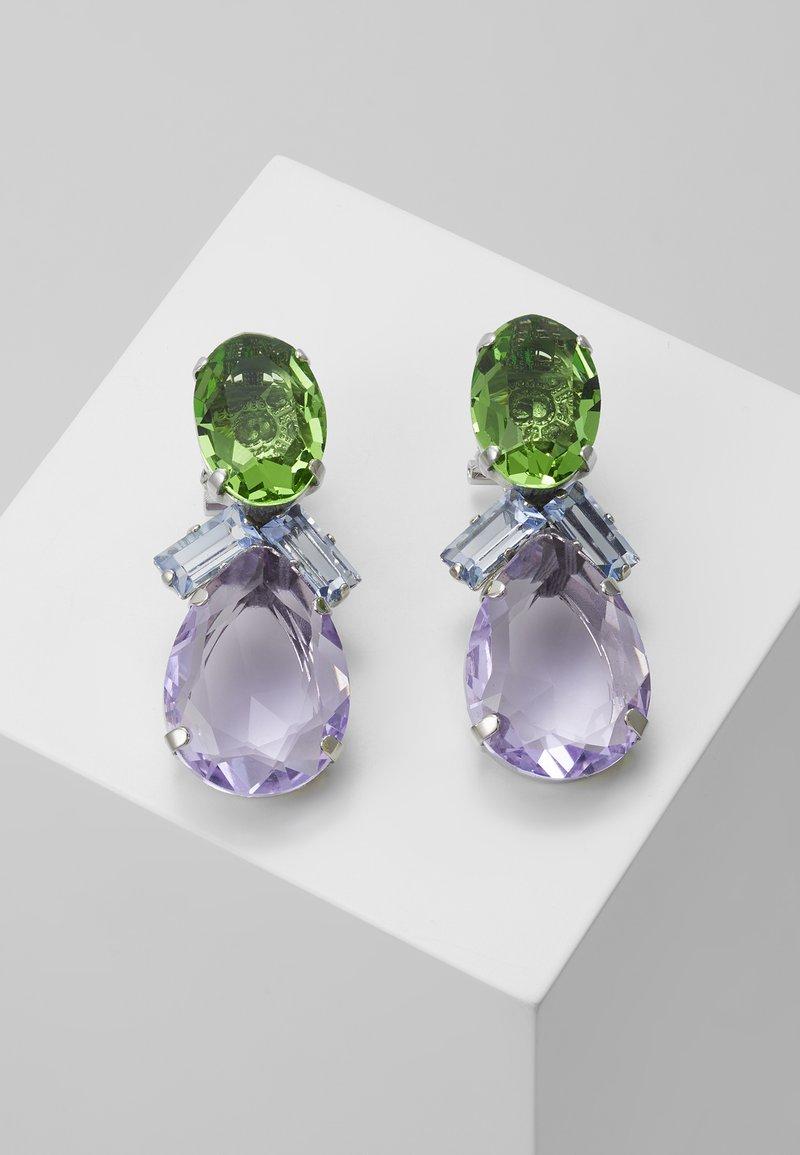 Radà - BEADED EARRINGS - Earrings - green