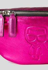 KARL LAGERFELD - Bum bag - metallic f - 3