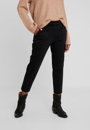 PANTS - Trousers - pure black