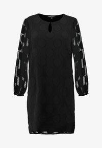 CAPSULE by Simply Be - DOBBY SPOT SHIFT DRESS - Day dress - black - 3