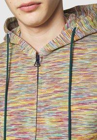 Missoni - CARDIGAN - Mikina na zip - beige/multi-coloured - 6