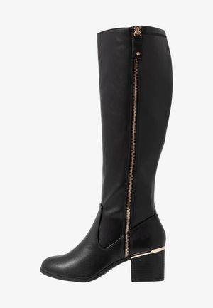 WIDE FIT CATRINA - Støvler - black