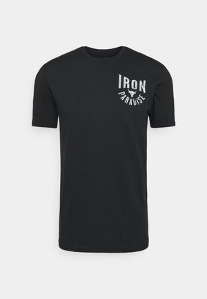 ROCK IRON PARADISE - T-shirt sportiva - black