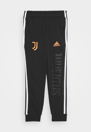 JUVENTUS SPORTS FOOTBALL PANTS - Article de supporter - black/white/apsior
