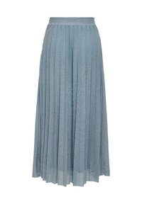 ONLY - Pleated skirt - Faded Denim - 5