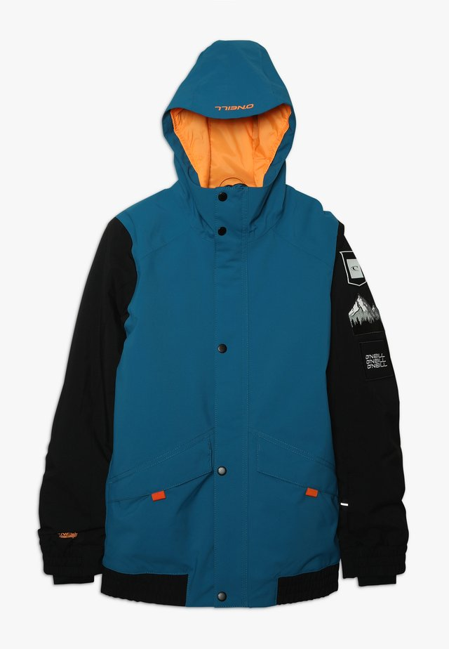 DECODE JACKET - Snowboard jacket - seaport blue