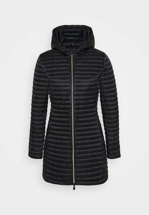 IRIS ALBERTA LONG HOODED COAT - Cappotto invernale - black