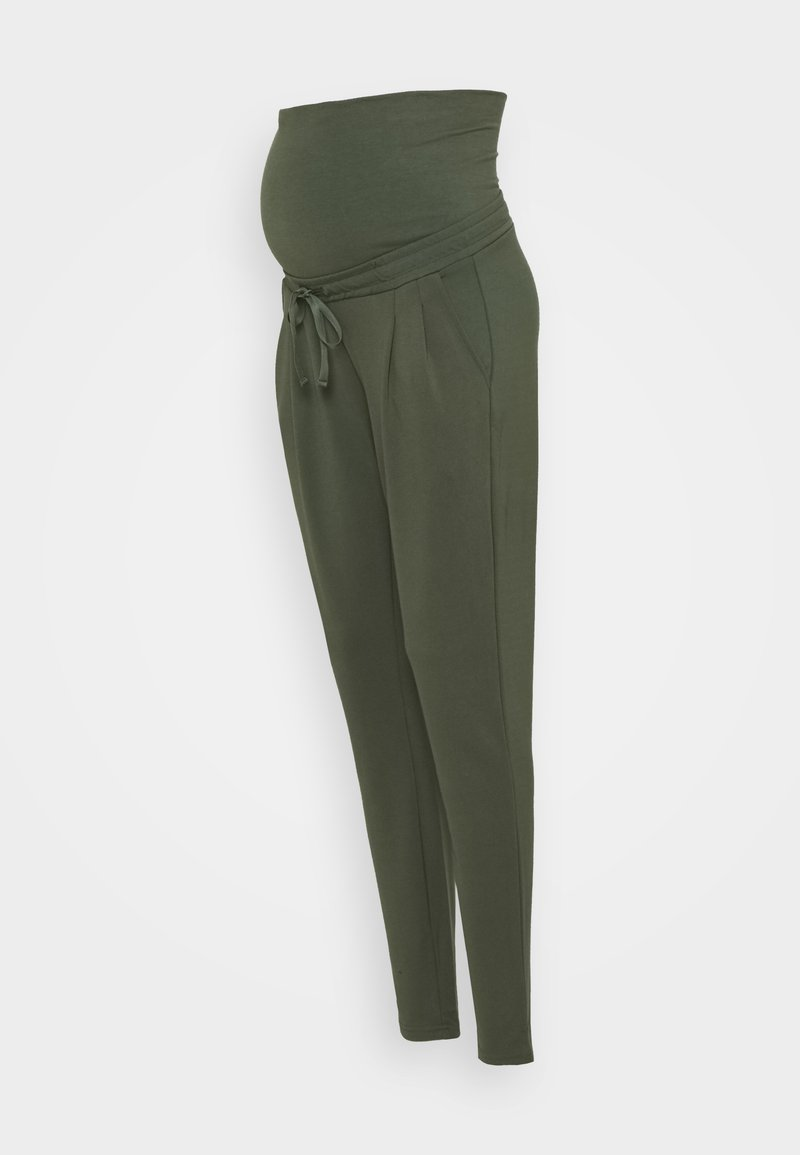 MAMALICIOUS - MLLIF PANTS - Trousers - thyme