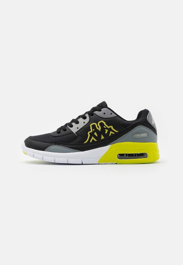 HARLEM II UNISEX - Sports shoes - black/lime
