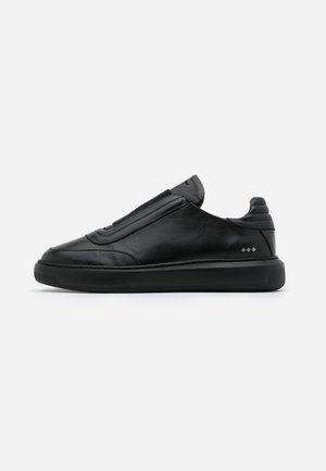 COSMOS OXFORD NO LACE - Slip-ons - black