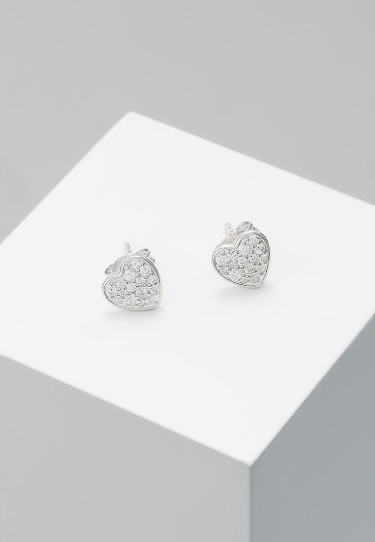 Fossil - STUD - Earrings - silver-coloured