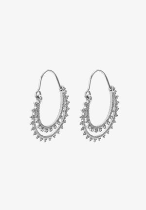EARRINGS SIGNE - Kolczyki - silver-coloured