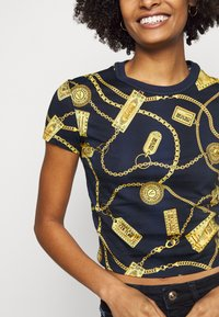 Versace Jeans Couture - Triko spotiskem - navy - 5