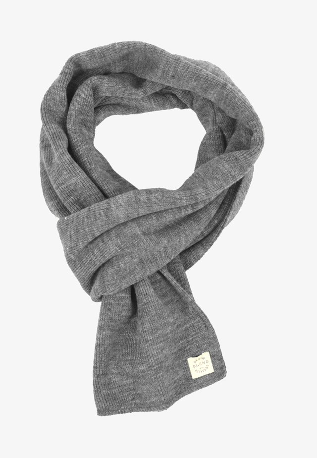 Scarf - grey denim