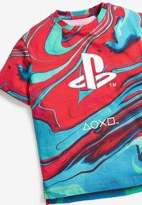 Next - PLAYSTATION T-SHIRT - Print T-shirt - red - 2