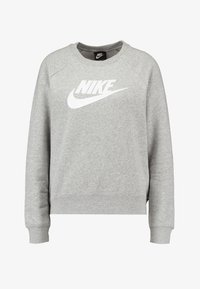 Nike Sportswear - CREW - Sweatshirt - grey heather/white - 3